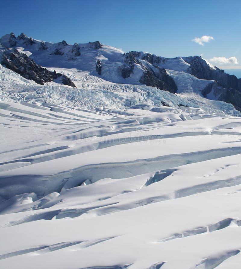 franz glaciär josef New Zealand royaltyfri fotografi