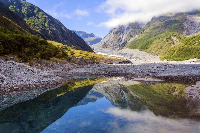 Download Franz Josef Glacier stock image. Image of oceania, summer - 24978205