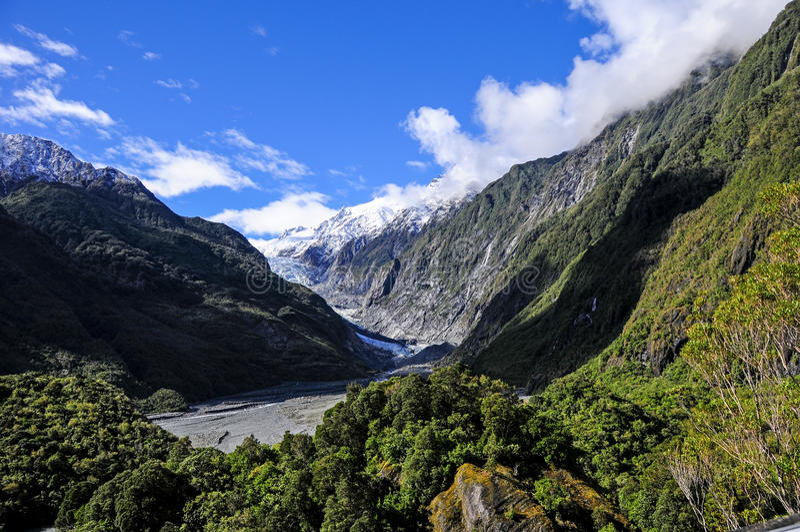 Franz Josef Glacier royalty free stock photo