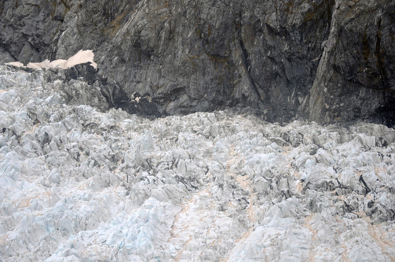 Franz Josef Glacier royaltyfria bilder