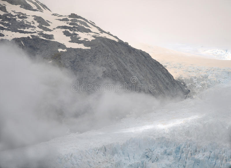 Franz Josef Glacier arkivfoto