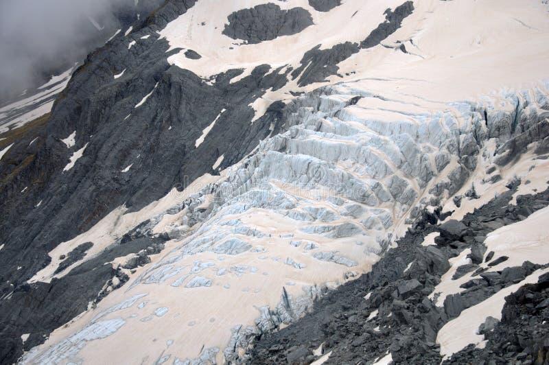 Franz Josef Glacier fotografering för bildbyråer