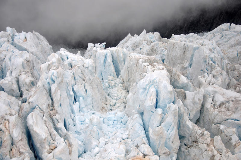 Franz Josef Glacier royaltyfri fotografi
