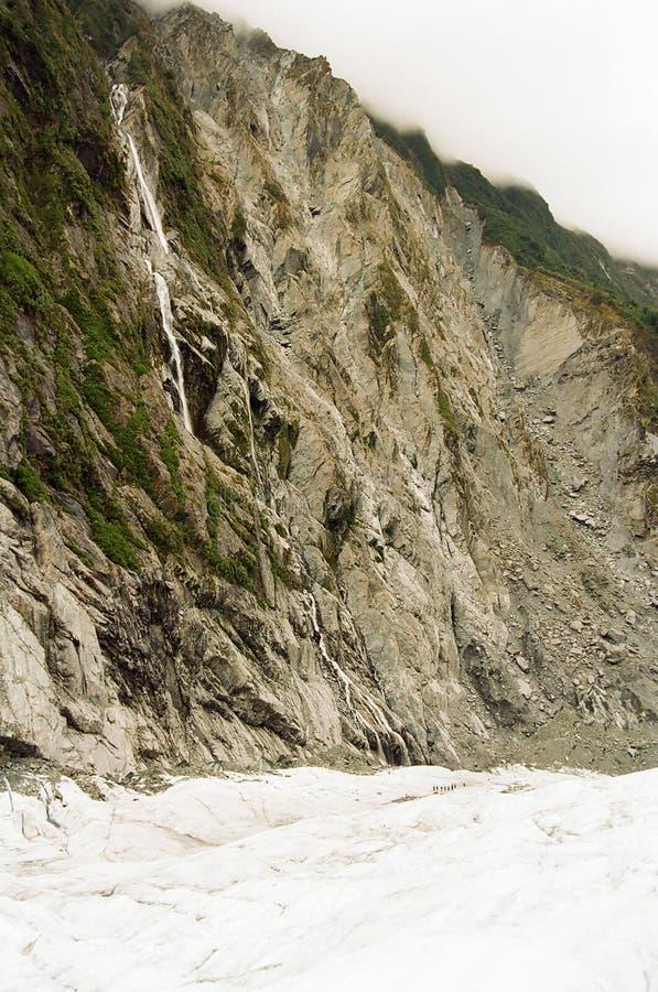 Franz Josef Glacier, New Zealand royalty free stock images