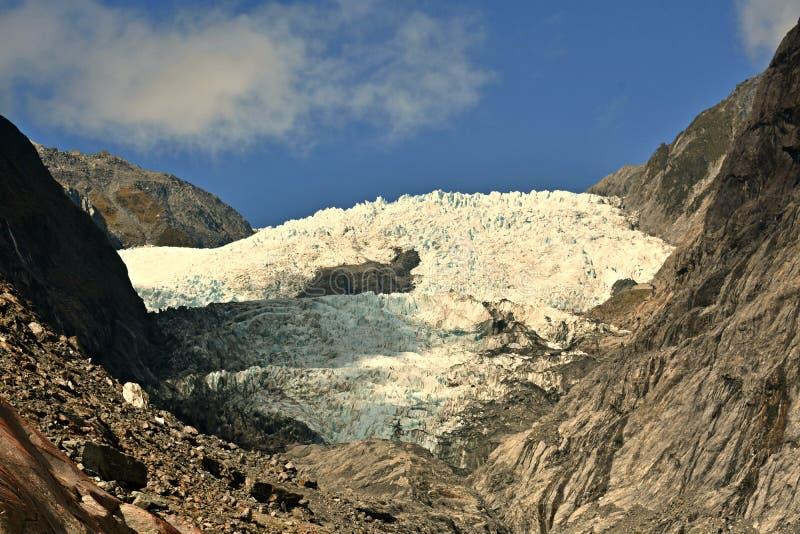 Franz Josep Glacier arkivbilder