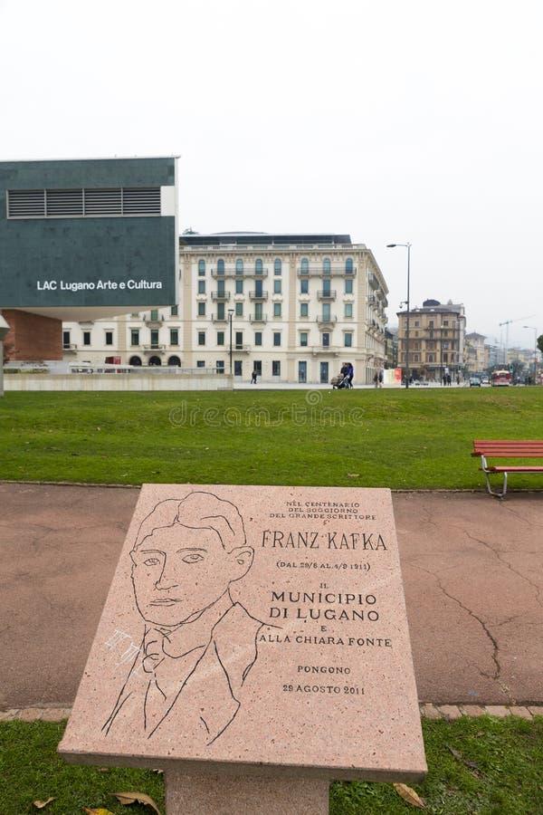 Franz Kafka et LAQUE photo stock