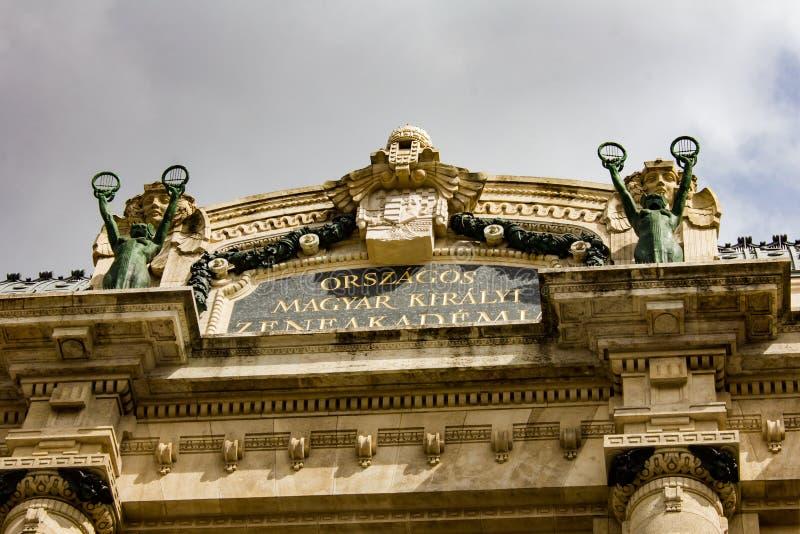 Franz Liszt Academy da música fotos de stock royalty free