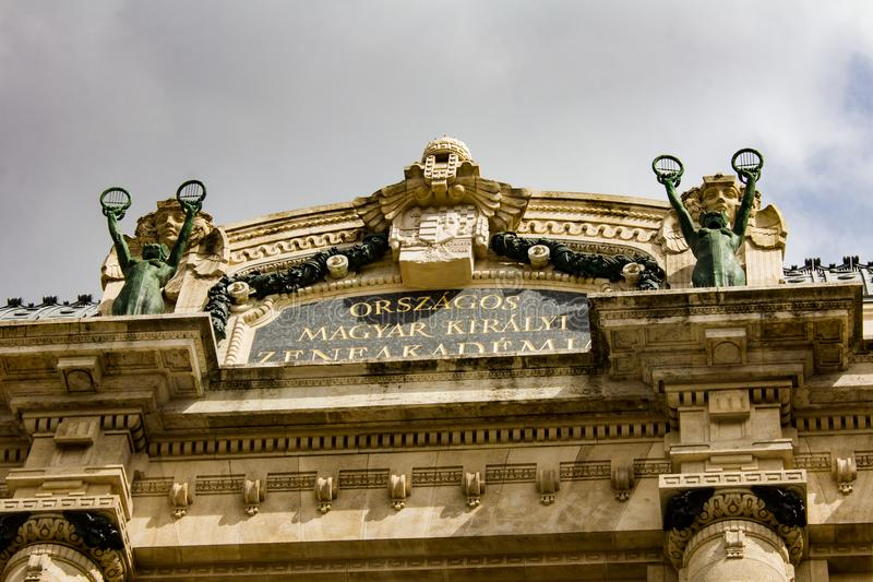 Franz Liszt Academy of Music royalty free stock photos