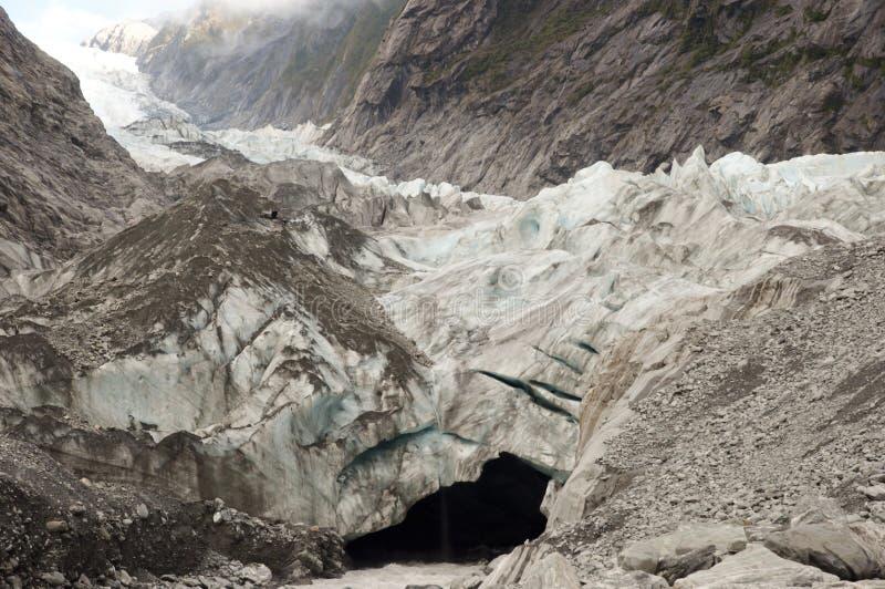 franz lodowiec Josef nowy Zealand fotografia stock