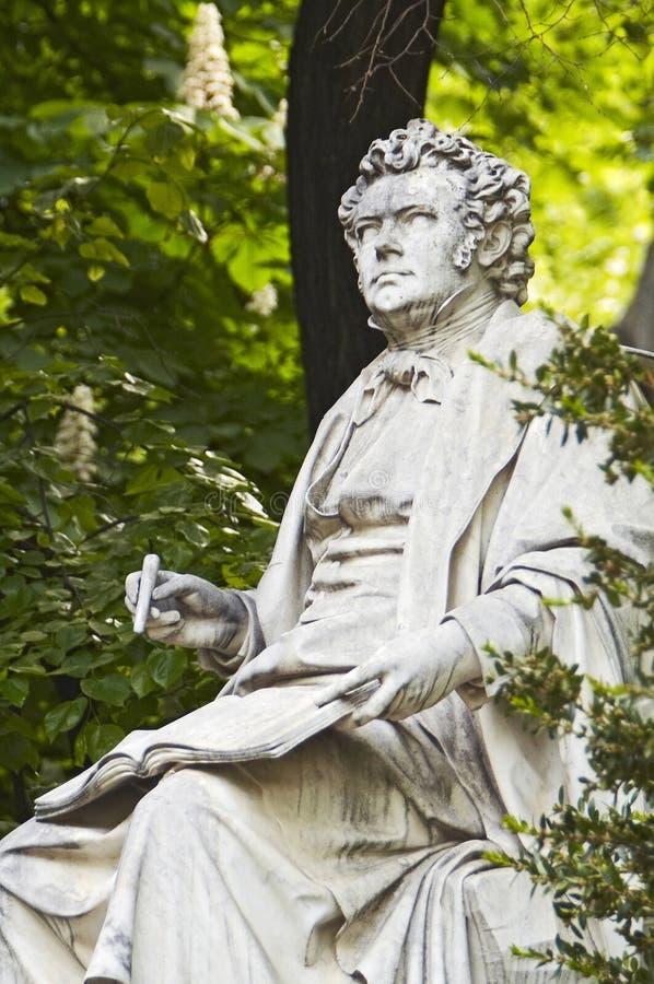 Franz Schubert stockbild
