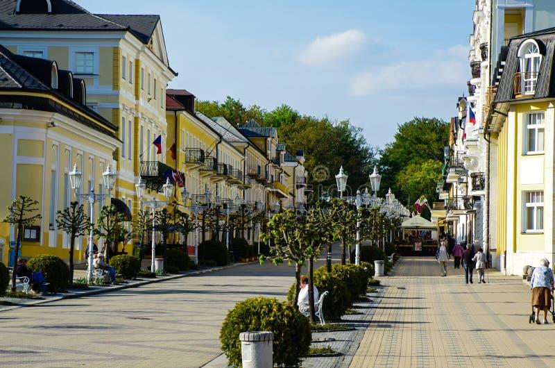 Download Franzensbad, République Tchèque Photo stock éditorial - Image du carbonique, pour: 45368008