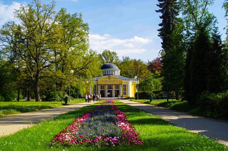 Franzensbad Tjeckien arkivfoto