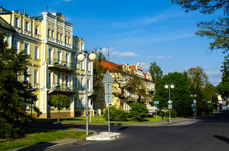 Franzensbad Tjeckien royaltyfri foto