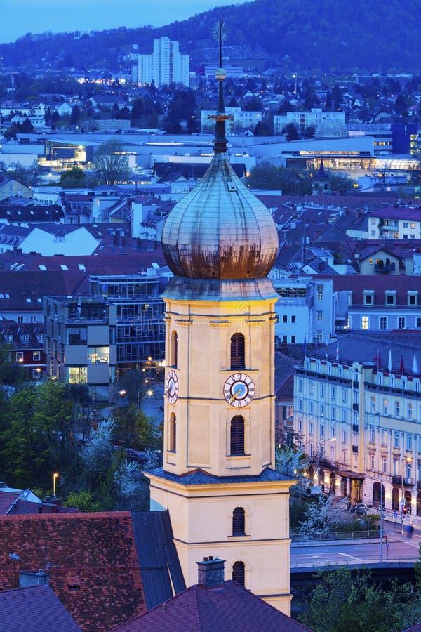 Franziskanerkirche в Граце стоковая фотография
