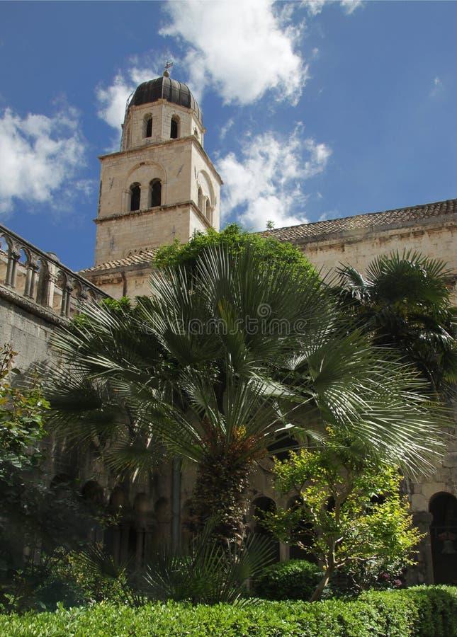 Franziskanerkloster, Dubrovnik. Kroatien stockbild