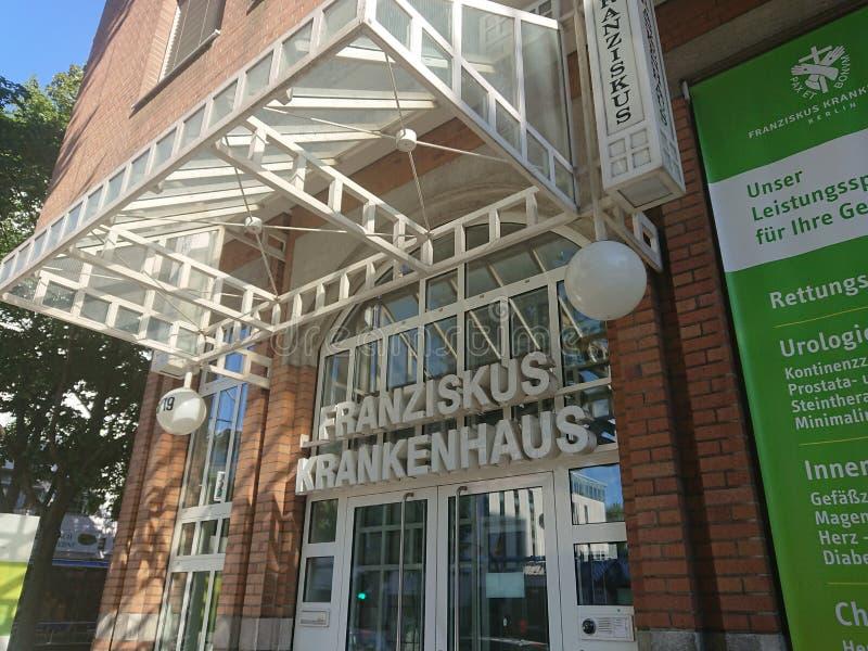 Franziskus Hospital a Berlino fotografia stock libera da diritti