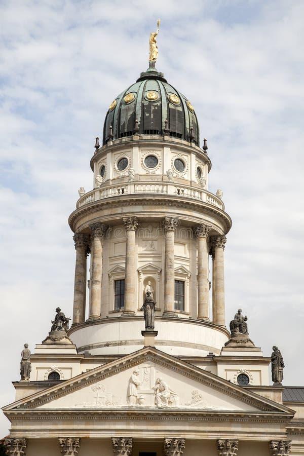 Franzosischer Dom Church - cattedrale francese; Berlino, Germania fotografia stock libera da diritti