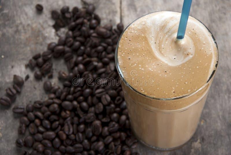 Frape greco di specialità del coffe ghiacciato immagini stock