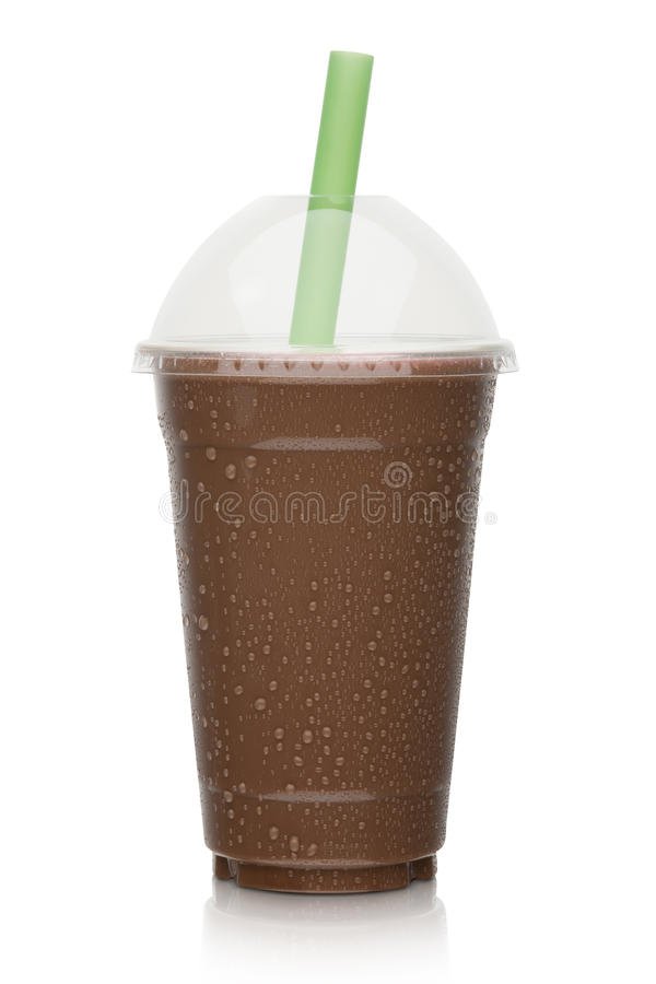 Frappé del cioccolato immagine stock
