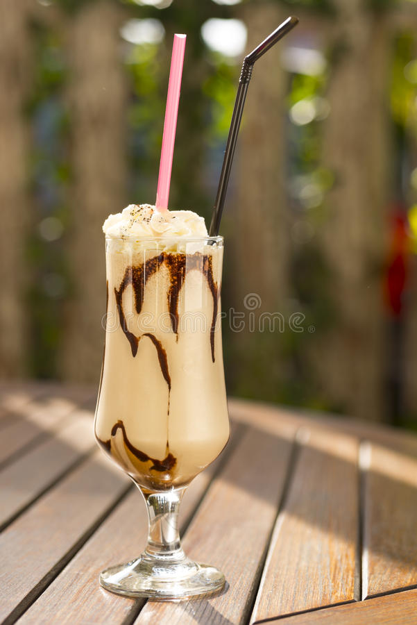 Frappe photos stock