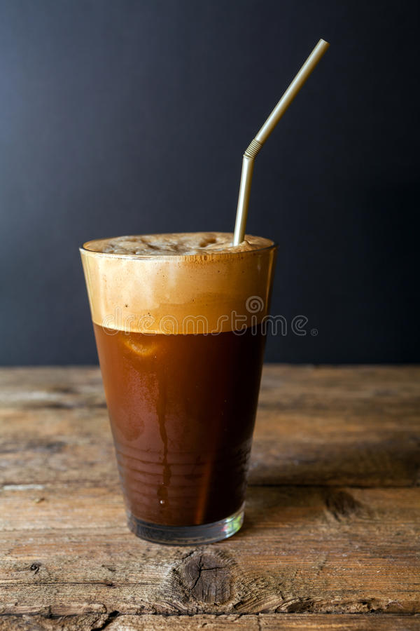 Frappe coffee royalty free stock image