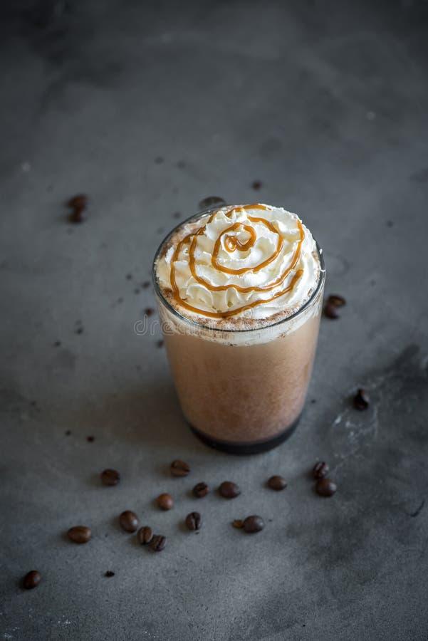 Frappe Kaffee stockfoto
