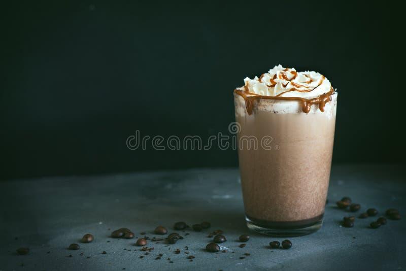 Frappe Kaffee lizenzfreies stockfoto
