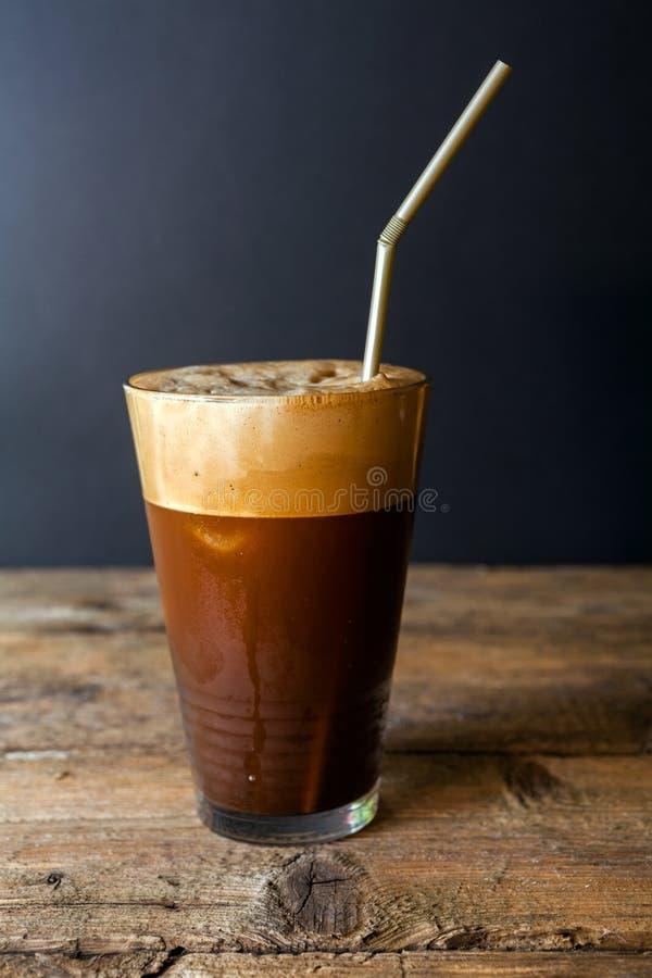 Frappe-Kaffee lizenzfreies stockbild