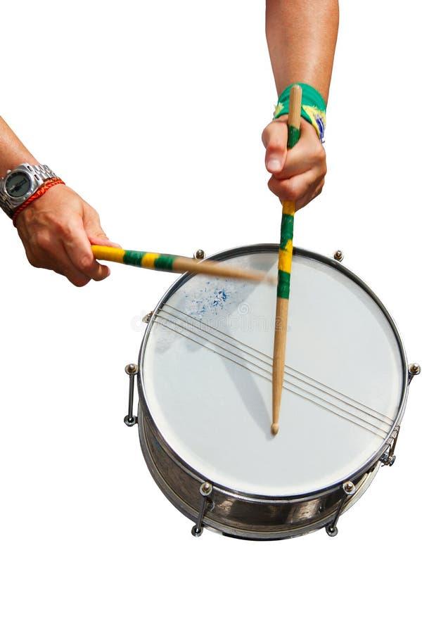 Frappez le tambour photo stock
