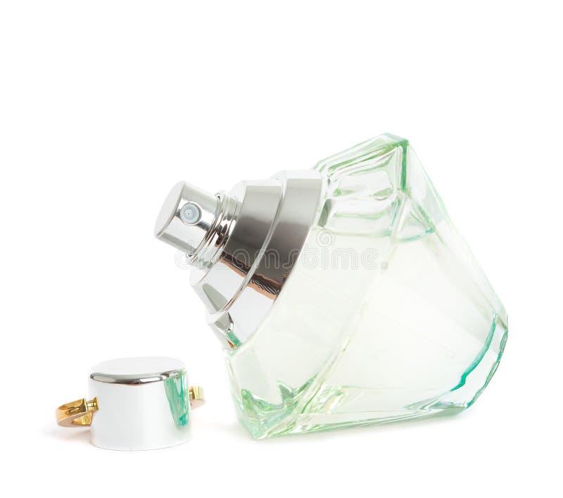 Frasco bonito do perfume foto de stock