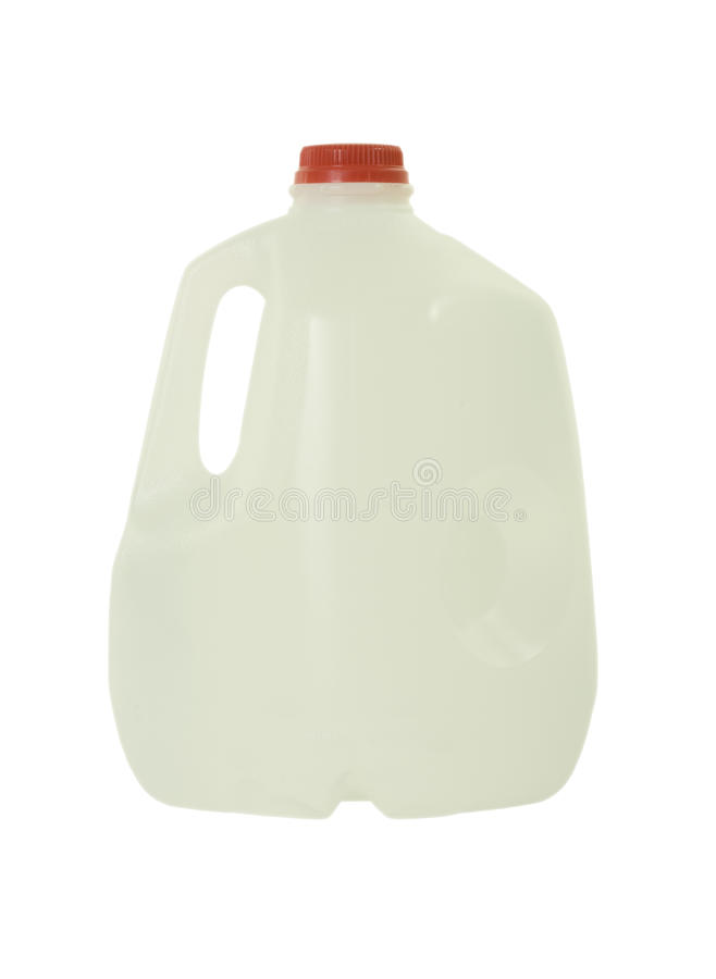 Frasco com água Purified fotografia de stock