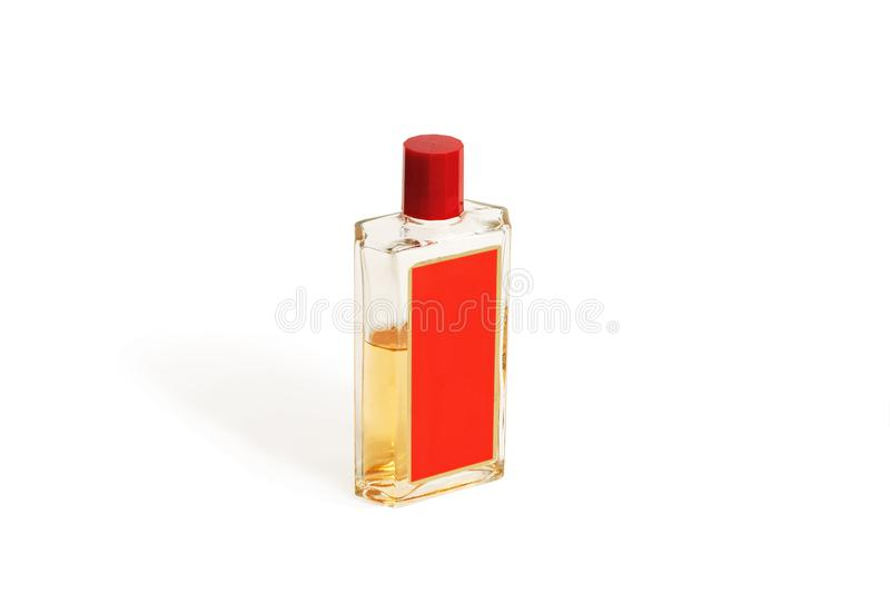 Frasco com cologne fotografia de stock royalty free