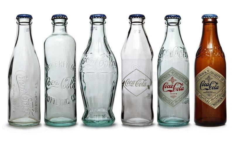 Frasco da coca-cola imagens de stock royalty free