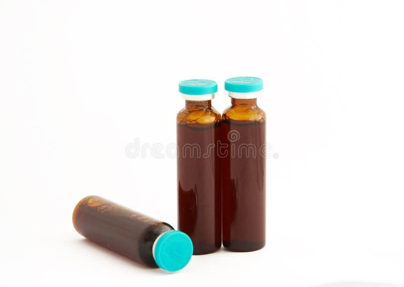 Frasco da medicina chinesa imagens de stock