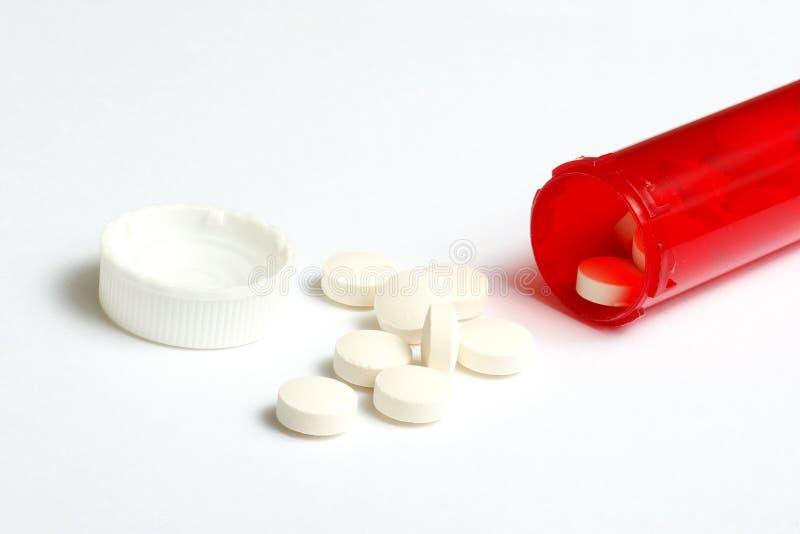 Frasco da prescrição imagens de stock