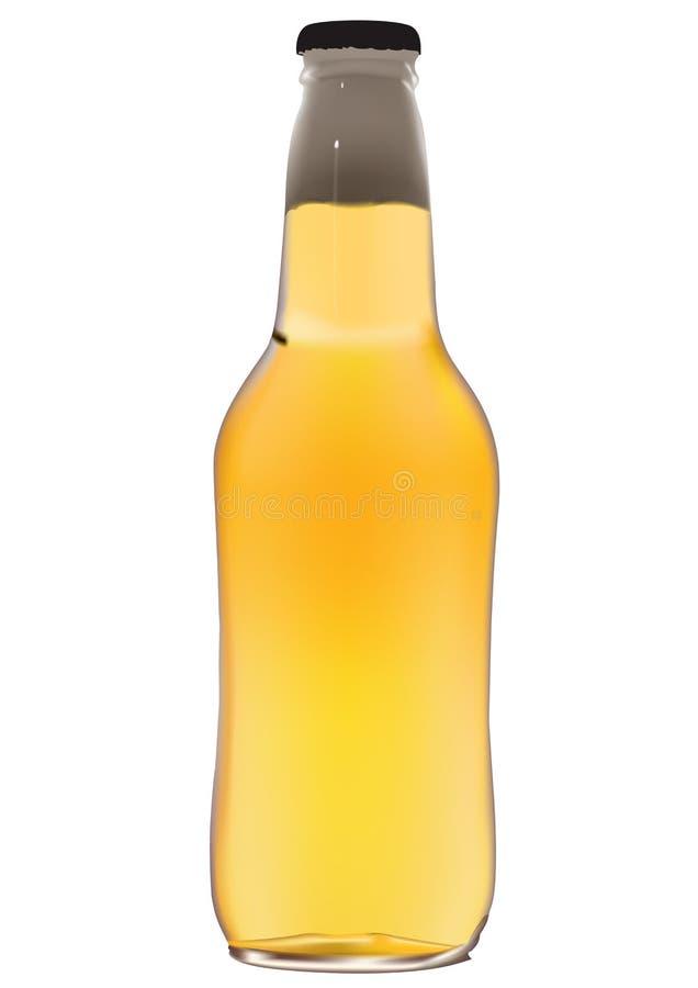 Frasco de cerveja ilustração stock