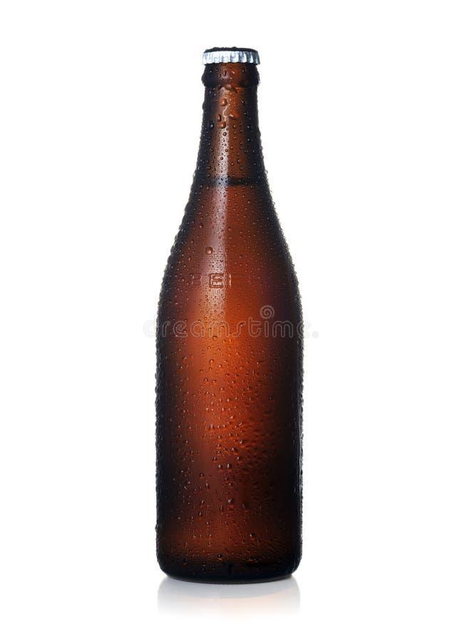 Frasco de cerveja imagens de stock