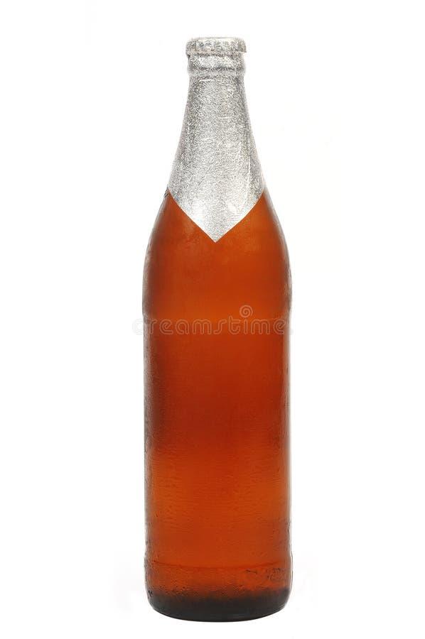 Frasco de cerveja fotografia de stock