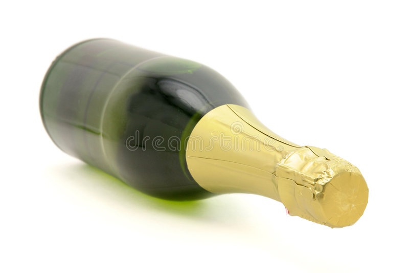 Frasco de Champagne imagens de stock