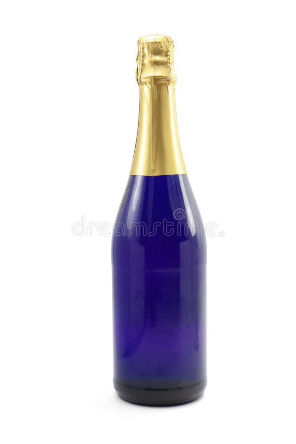 Frasco de Champagne imagens de stock royalty free