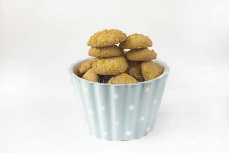 Frasco de cookie foto de stock
