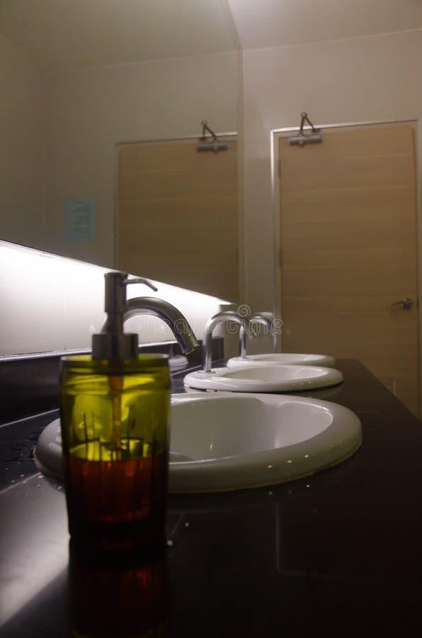 frasco de lavagem da mão fotos de stock