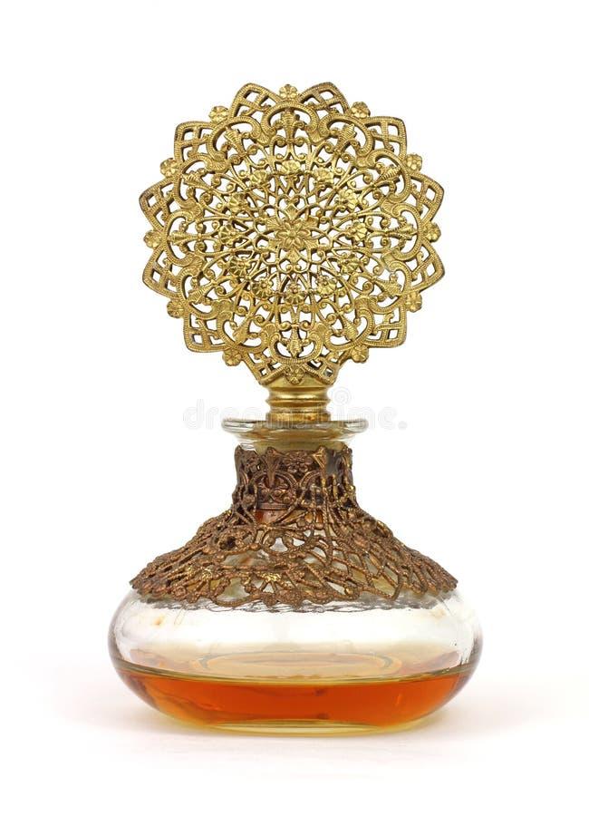Frasco de perfume muito velho foto de stock