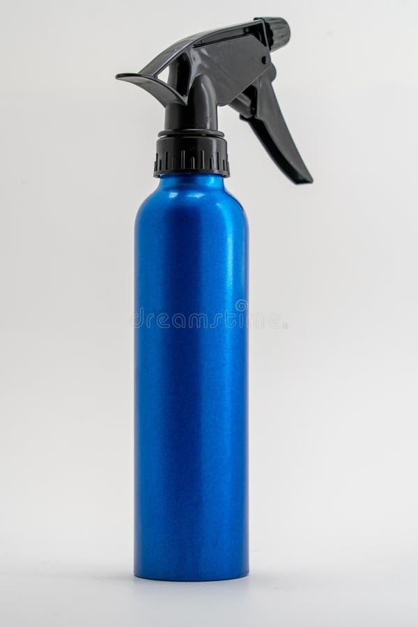 Frasco de pulverização garrafa de água de alumínio imagem de stock royalty free