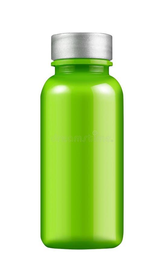 Frasco de vidro verde fotos de stock