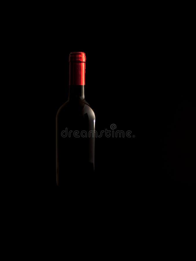 Frasco de vinho discreto foto de stock royalty free