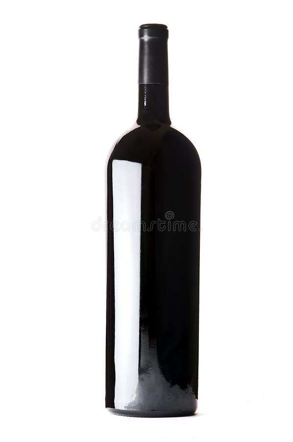 Frasco de vinho vermelho imagem de stock royalty free