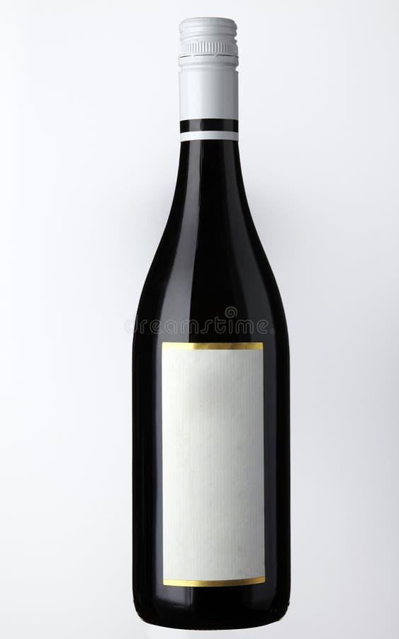 Frasco de vinho vermelho foto de stock royalty free