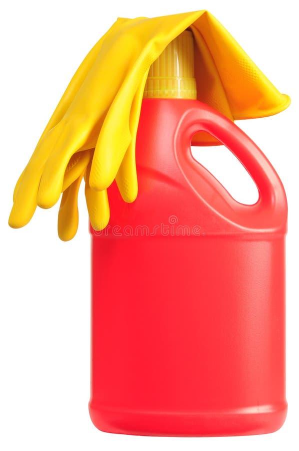 Frasco detergente. imagem de stock