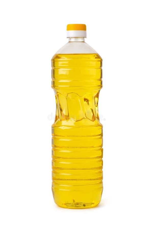 Frasco do óleo fotografia de stock